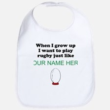 Play Rugby Just Like (Custom) Bib