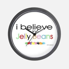 I believe in Jelly Beans Wall Clock