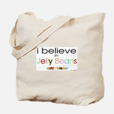 I believe in Jelly Beans Tote Bag