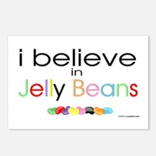 I believe in Jelly Beans Postcards (Package of 8)