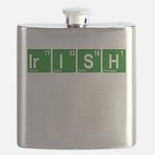 Periodic Irish Flask