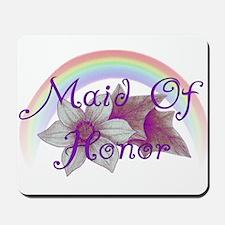 Rainbow Marriage Maid Of Honor Mousepad