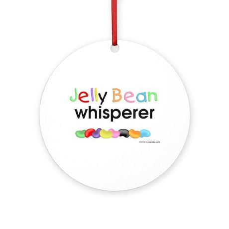 Jelly Bean Whisperer Ornament (Round)
