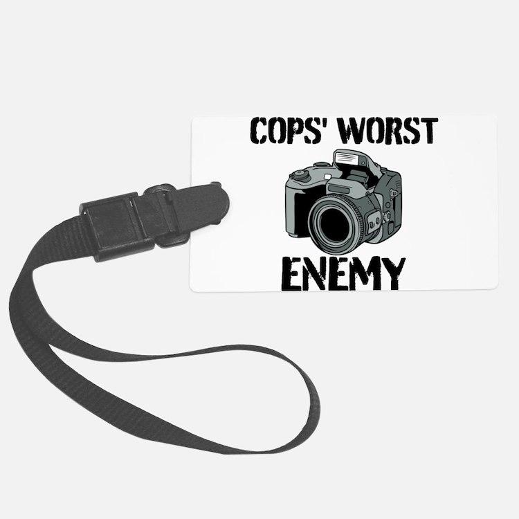 Camera: Cops Worst Enemy Luggage Tag