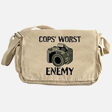 Camera: Cops Worst Enemy Messenger Bag