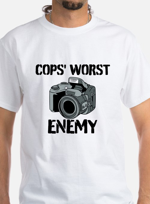Camera: Cops Worst Enemy T-Shirt