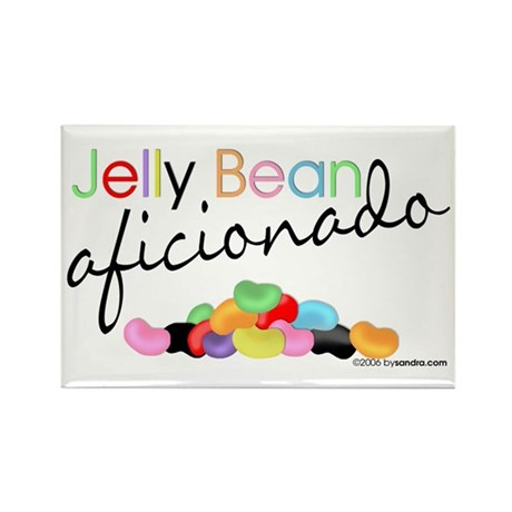 Jelly Bean Rectangle Magnet