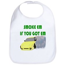 Smoke Tires Bib