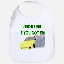 Smoke Tires Bib