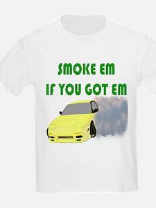 Smoke Tires Kids T-Shirt