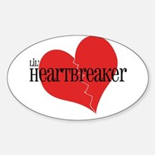 Lil' Heartbreaker Oval Decal
