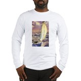 Sailboats Long Sleeve T-shirts