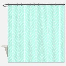 Seafoam Green Shower Curtains Seafoam Green Fabric Shower