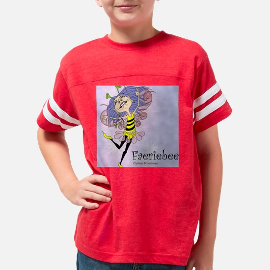 Faeriebee poster 4.25 tile Youth Football Shirt