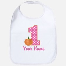 1st Birthday Pumpkin Bib