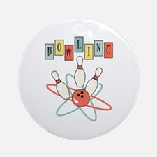 Bowling Ornament (Round)