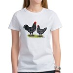Java Rooster and Hen Women's T-Shirt