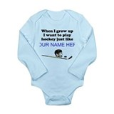 Baby hockey Long Sleeves Bodysuits