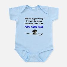 Play Hockey Just Like (Custom) Body Suit