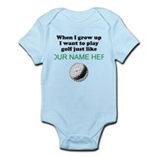 Play Golf Just Like (Custom) Body Suit