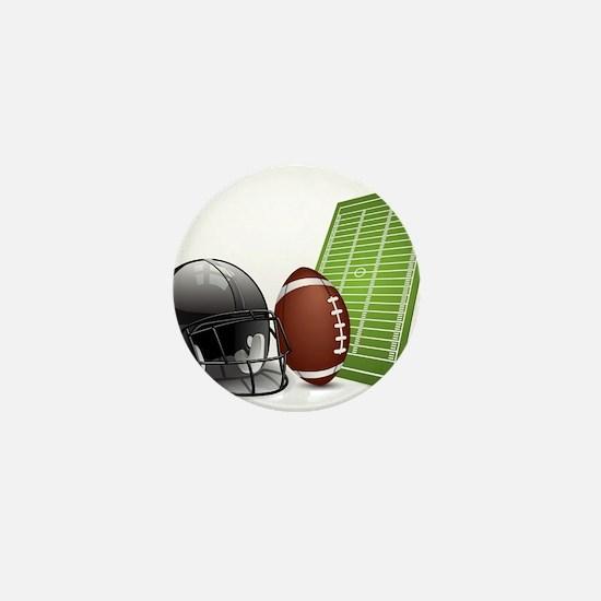 Football - Sports - Athlete Mini Button