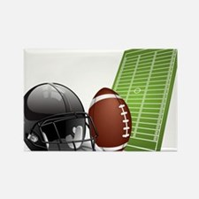 Football - Sports - Athlete Magnets