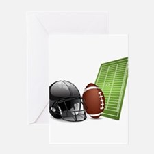 Football - Sports - Athlete Greeting Cards