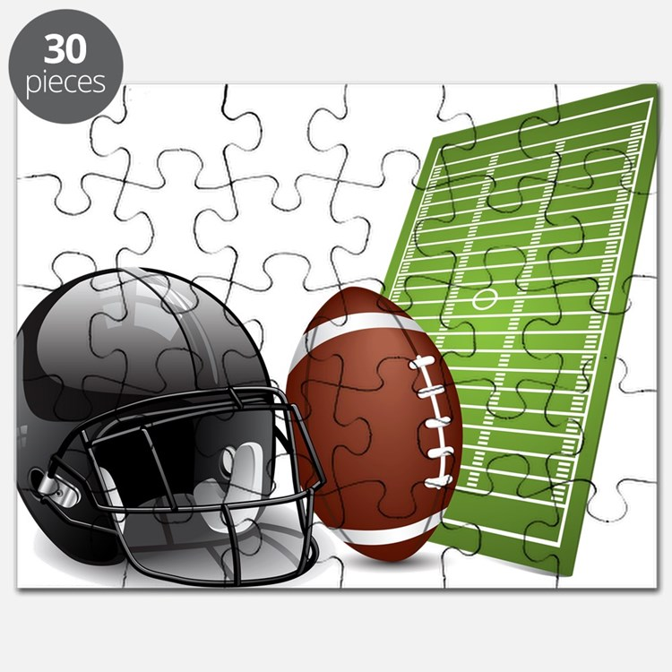 Football - Sports - Athlete Puzzle