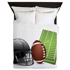 Football - Sports - Athlete Queen Duvet