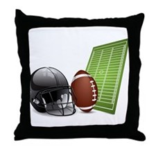 Football - Sports - Athlete Throw Pillow