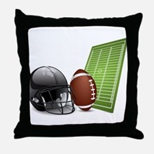 Football - Sports - Athlete Throw Pillow