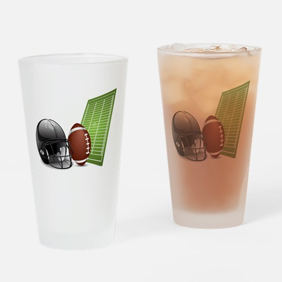 Football - Sports - Athlete Drinking Glass
