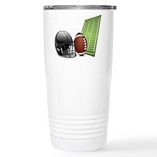 Football - Sports - Athlete Travel Mug