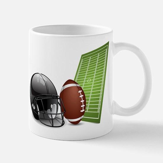 Football - Sports - Athlete Mugs
