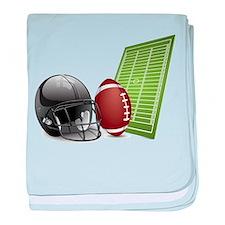 Football - Sports - Athlete baby blanket