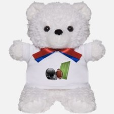 Football - Sports - Athlete Teddy Bear
