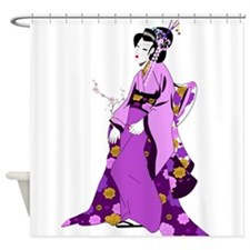 Geisha - Anime - Japan Shower Curtain