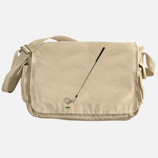 Golf - Golfer - Sports Messenger Bag