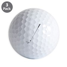 Golf - Golfer - Sports Golf Ball