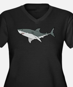 Great White Shark Plus Size T-Shirt