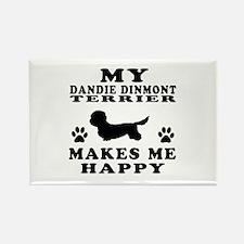 My Dandie Dinmont Terrier makes me happy Rectangle