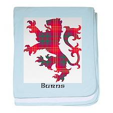 Lion - Burns baby blanket