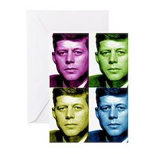 JFK John F. Kennedy Greeting Cards (Pk of 10)