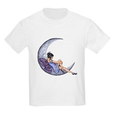 A Fairy Moon Kids T-Shirt