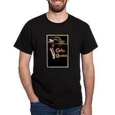 Caf`e Chocolats - T-Shirt