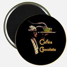 Caf`e Chocolats - Magnet