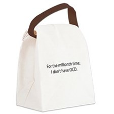 For the millionth time Canvas Lunch Bag