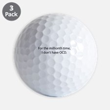 For the millionth time Golf Ball