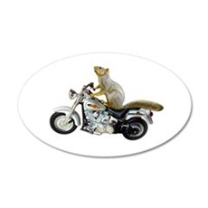 Motorcycle Squirrel Wall Decal