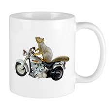 Motorcycle Squirrel Mug